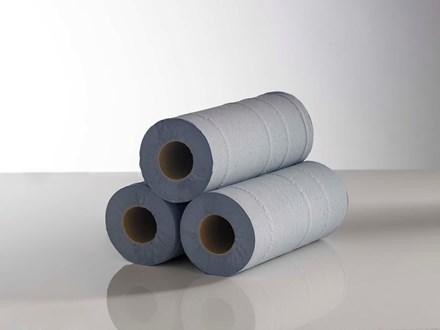 "Hygiene Rolls, 40m x 250mm, (10""), Blue, 18's"