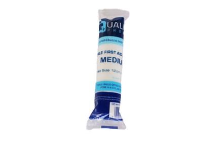First Aid, Dressing, Sterile, 12 x 12cm, Medium