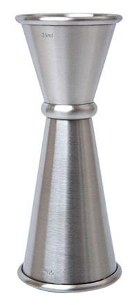 Bar Supp. Jigger Measure, Mezclar, 25/50ml, S/S