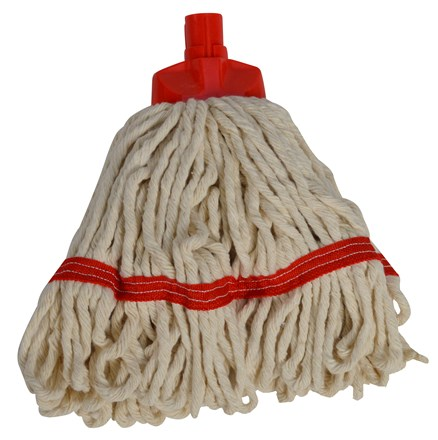 Mop Heads, SYR Freedom, Midi, White Yarn, Red