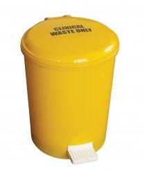 Bin, Clinical Waste, Pedal Bin, 20Ltr