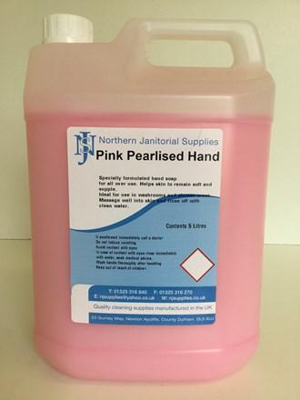 Soap, Hand, NJS, Pink, 5Ltr