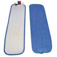 SYR Rapid Mop System, Microfibre  Pads, 10 Pads