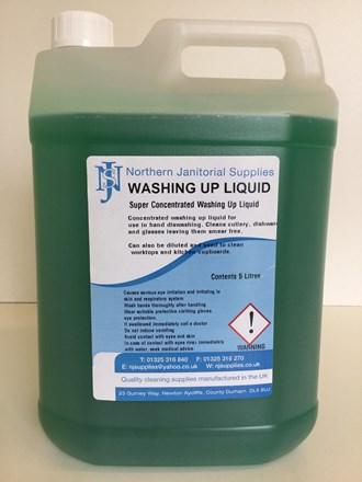 Washing Up Liquid, NJS, Conc., 5Ltr