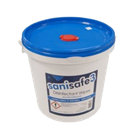 Wipes, Sanisafe3, Blue, Antibacterial & Antiviral, 1500