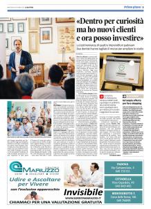 Venetex Il Mattino di Padova 18 ottobre 2016