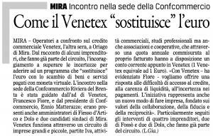 Venetex Il Gazzettino Venezia 6 aprile 2017