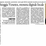 Venetex Il Gazzettino - 9 aprile 2017