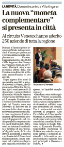 Venetex Il Giornale di Vicenza 9 maggio 2017