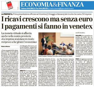 Venetex Il Giornale di Vicenza 6 maggio 2017