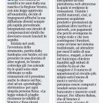 Il Corriere del Veneto - 20 luglio 2018