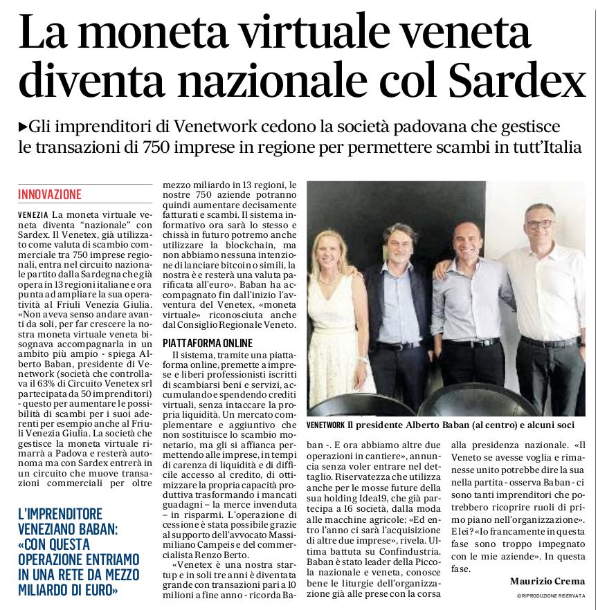 Il Gazzettino - 4 ottobre 2019