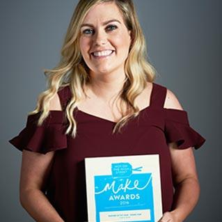 notonthehighstreet.com - Make Awards 2016 - Rising Star winner