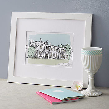 notonthehighstreet.com - Personalised Wedding Venue Portrait