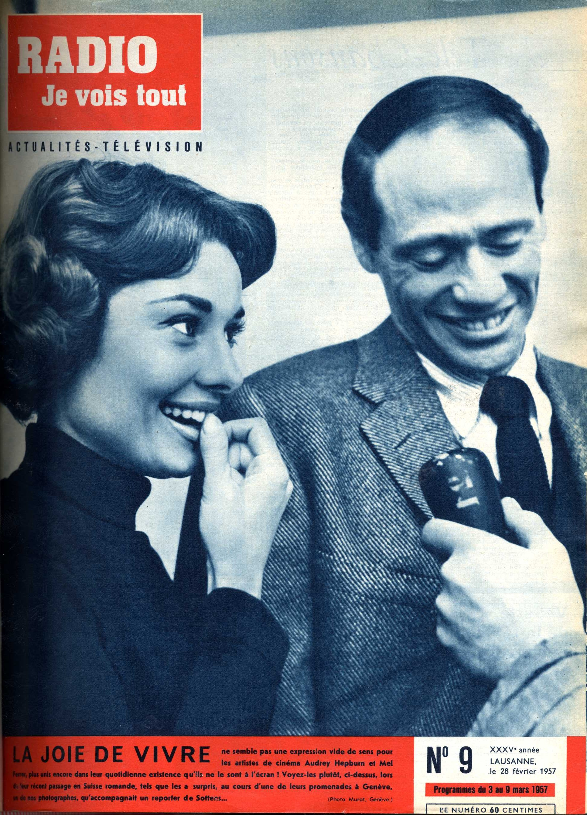 Audrey Hepburn et Mel Ferrer