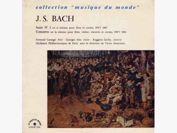 J. S. Bach, BWV 1067, F. Caratgé, OPParis, V. Desarzens