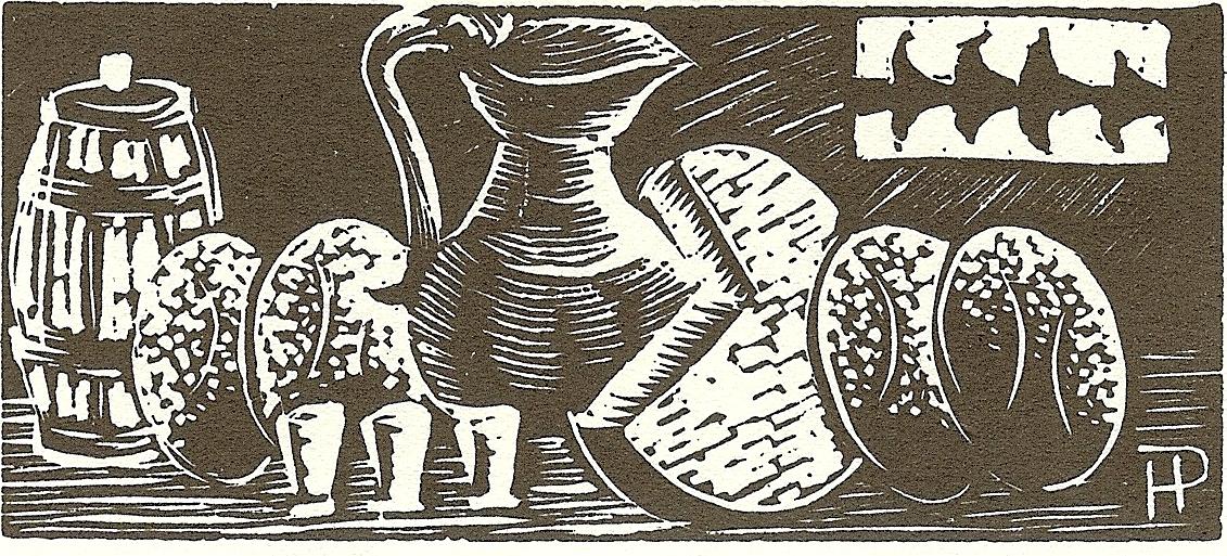 La fabrication du pain au village