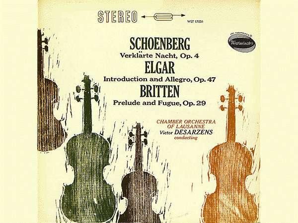 Edward Elgar, Op. 47, OCL, Victor Desarzens