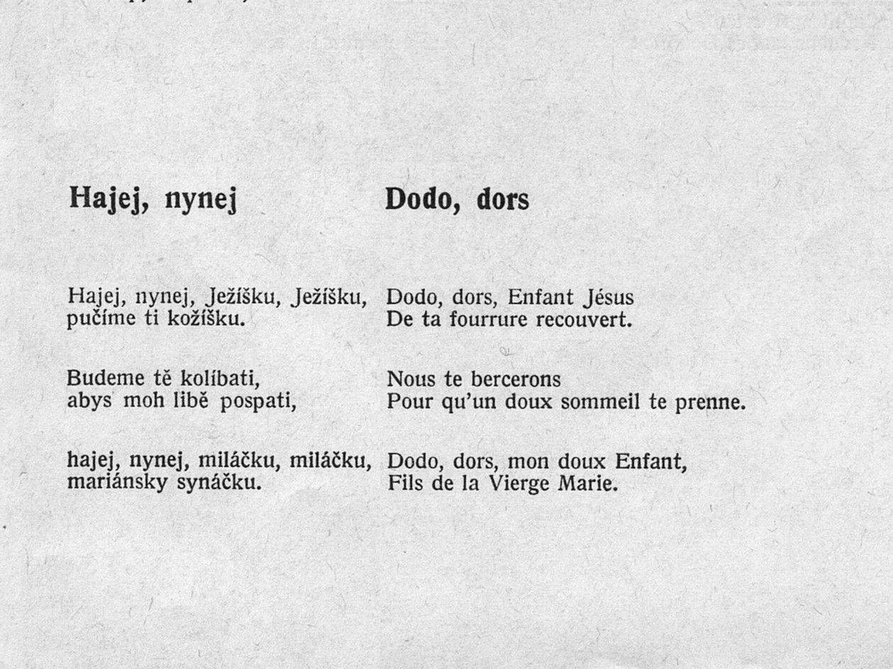 17. Hajej, nynej - Dodo, dors, Basia Retchitzka