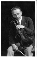 José Porta, violoniste, interprète Paganini