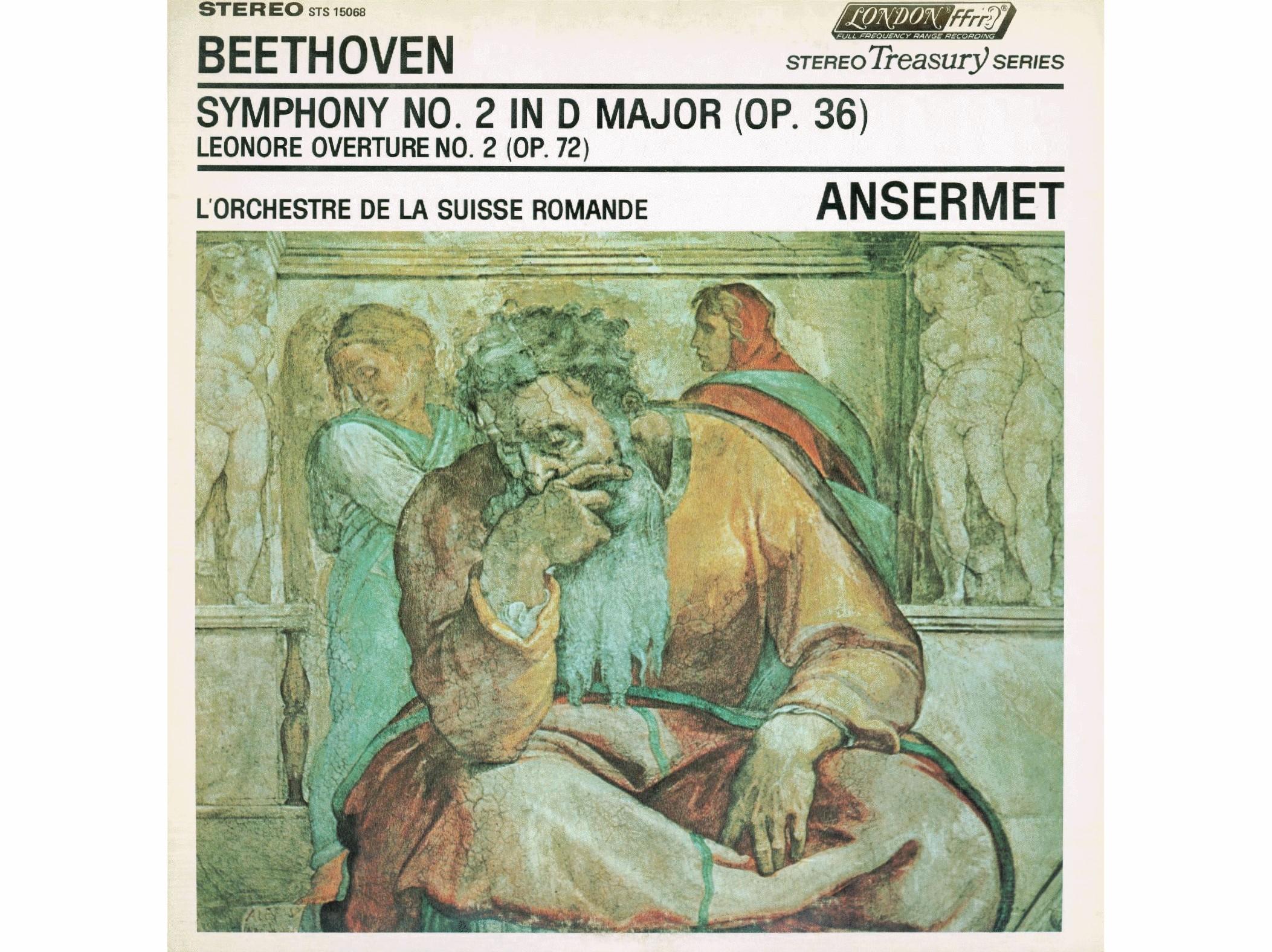 L. van Beethoven, Ouv. Leonore II, Op.72a, OSR, Ernest Ansermet, 01/1960, disque STS-15068