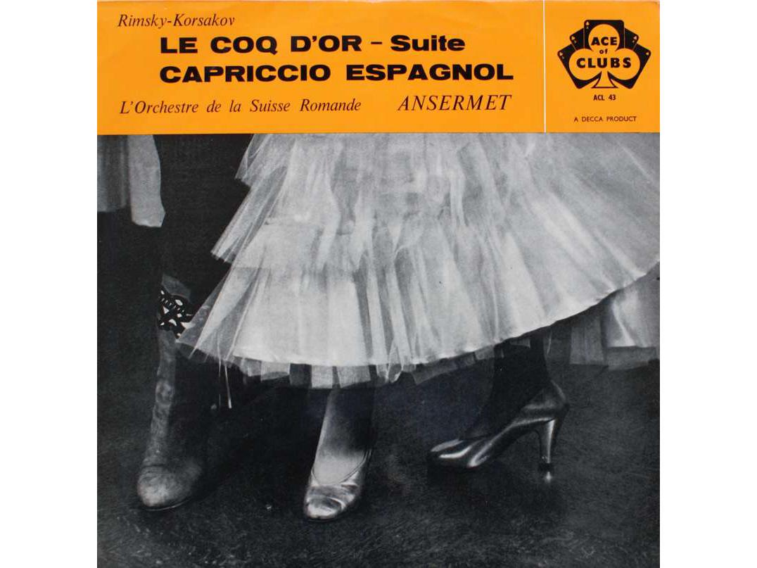 """N. RIMSKI-KORSAKOW, Suite """"Le Coq d'Or"""", OSR, Ernest ANSERMET, 1952"""