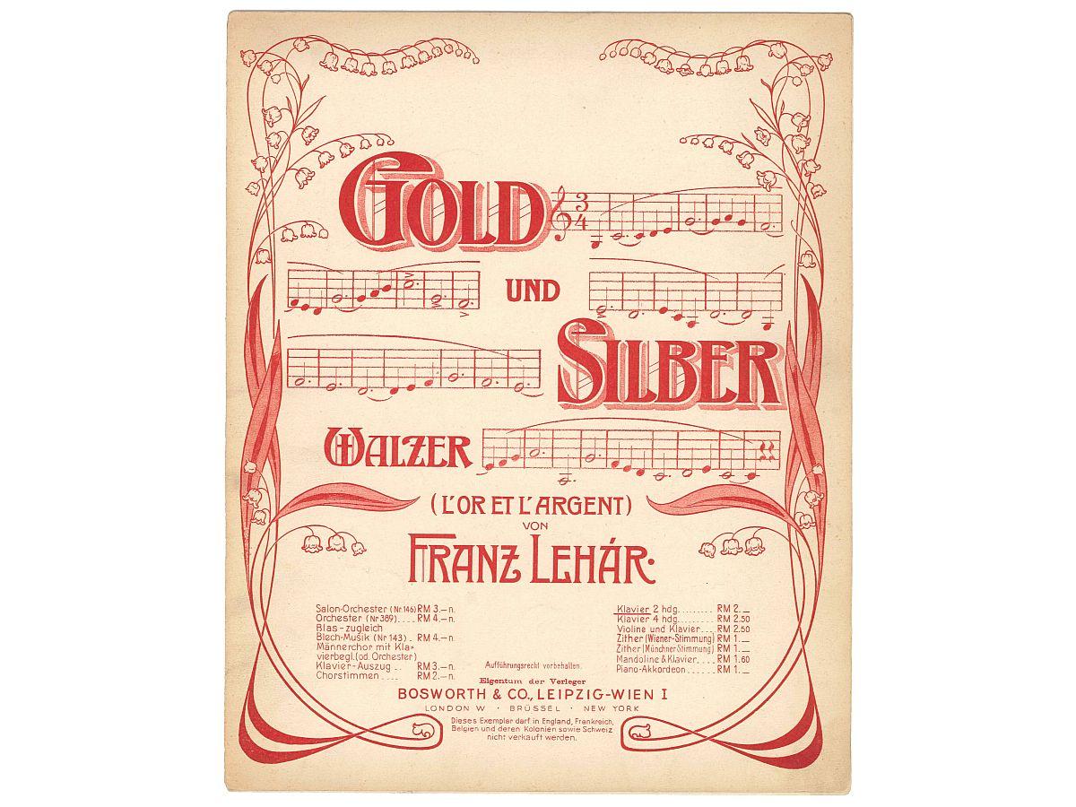 Victor DESARZENS à Vienne: Lehar...