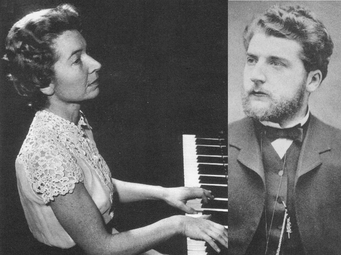 G. Bizet, Variations Chromatiques de concert (Extraits), H.Boschi (P) 1953