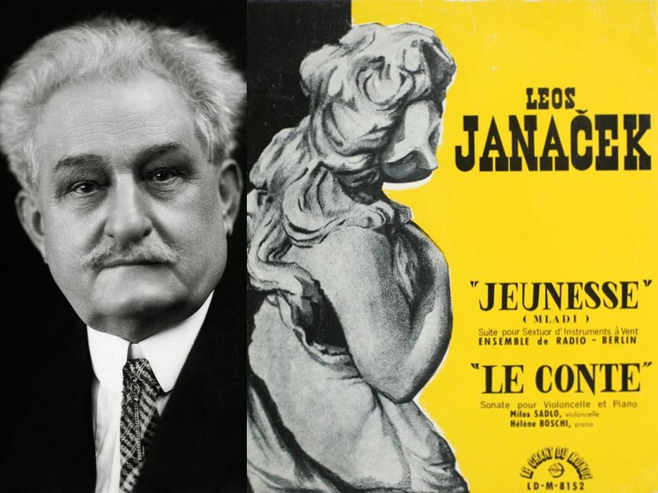 L. Janacek, Un conte, Hélène Boschi, Milos Sadlo (P) 1956