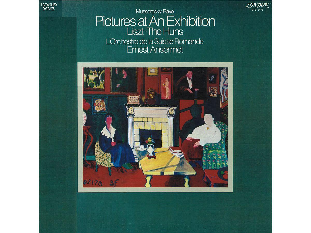 F. Liszt, Hunnenschlacht, P. Segond, OSR, E. Ansermet, 1959