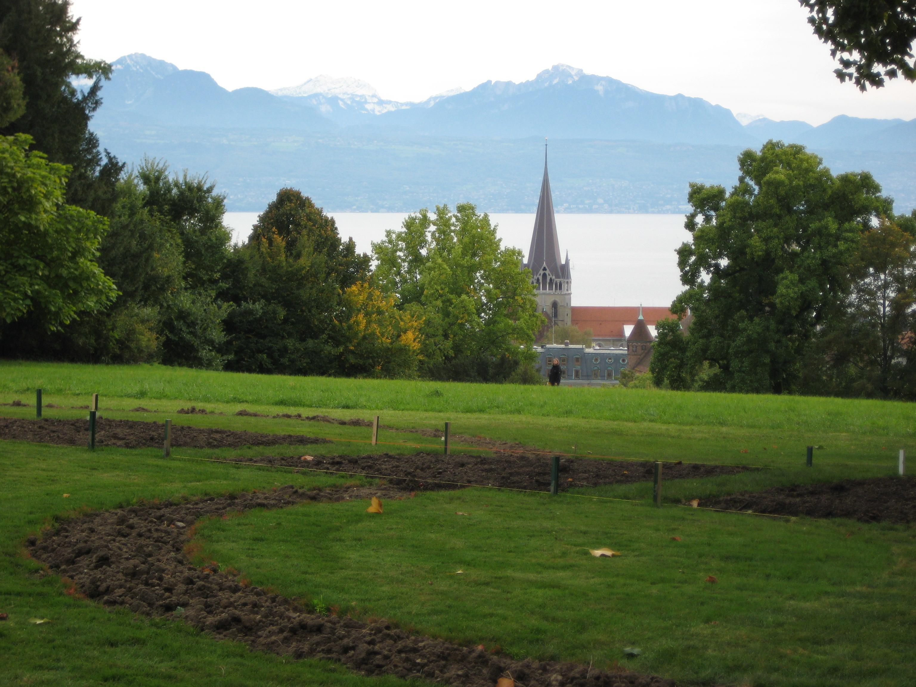 Les parcs publics de Suisse romande