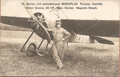 Aviateurs suisses 1910 à 1930