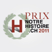Les Lauréats du Prix notrehistoire.ch 2011