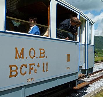 MOB - Compagnie du Chemin de fer Montreux Oberland Bernois
