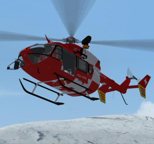 Les Hélicoptères en Suisse