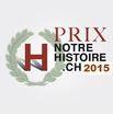 Les lauréats du Prix notrehistoire.ch 2015