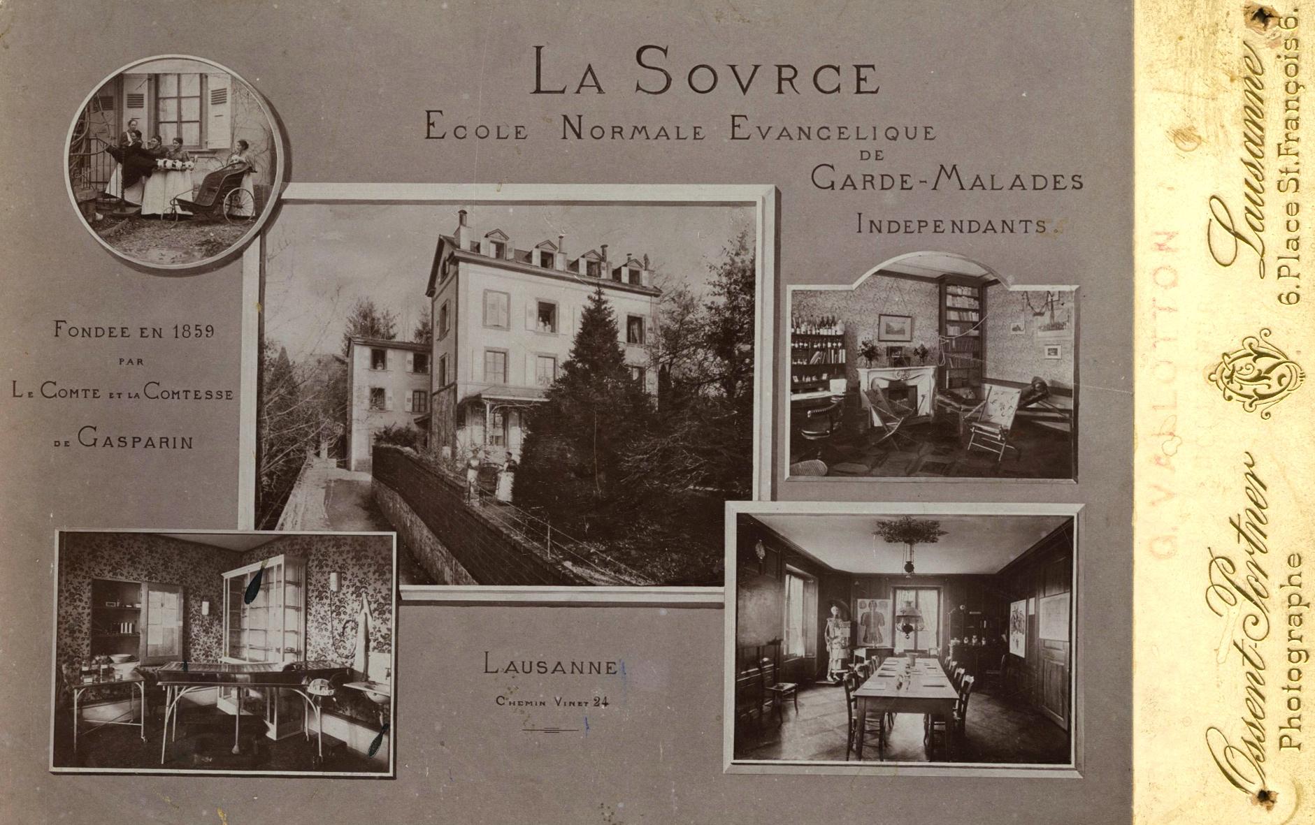 La Source, la plus ancienne école laïque d'infirmières