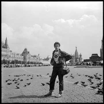 Léonard Gianadda sur la Place Rouge
