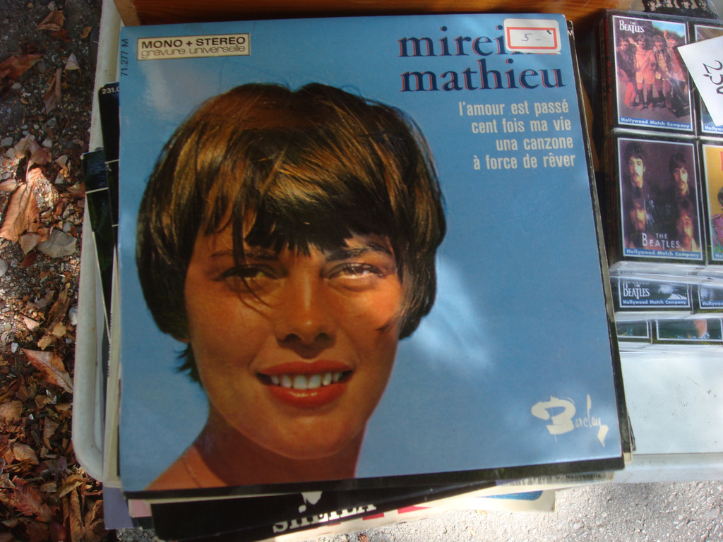 Mireille Mathieu à Plainpalais