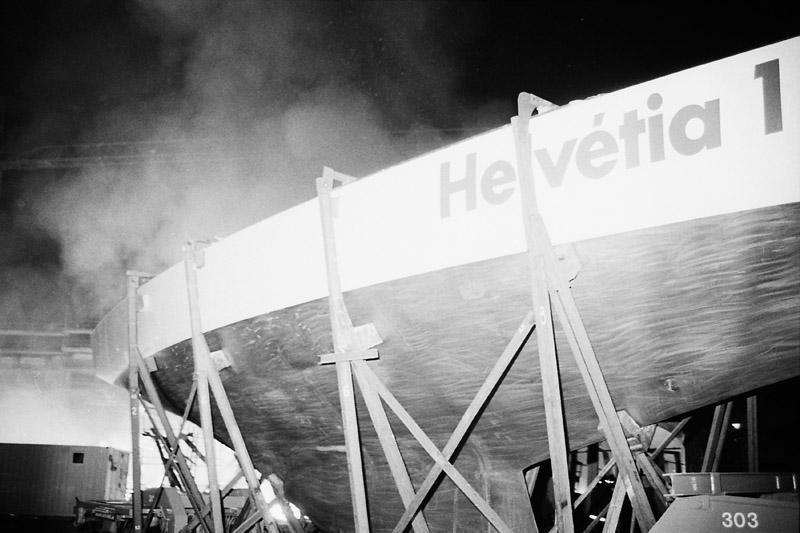 Incendie de l'Helvétia