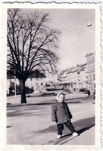La place Python à Fribourg