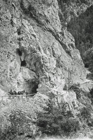 Route d'Anniviers 1905