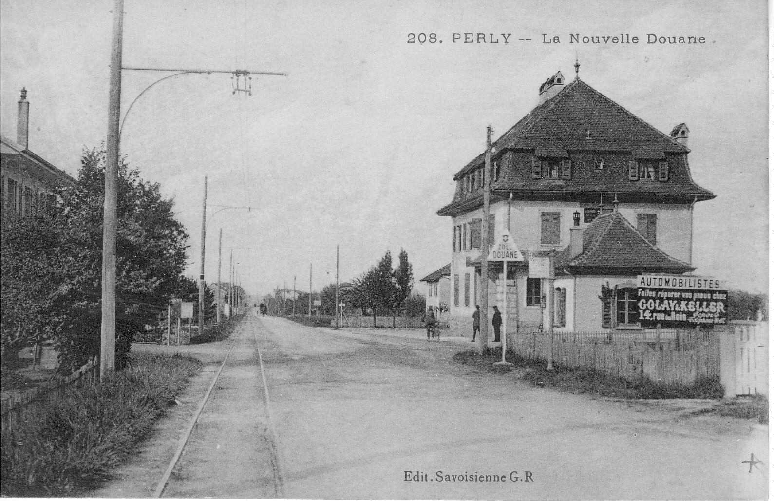 Perly GE, la nouvelle douane - Notre Histoire 1ae9d858b710
