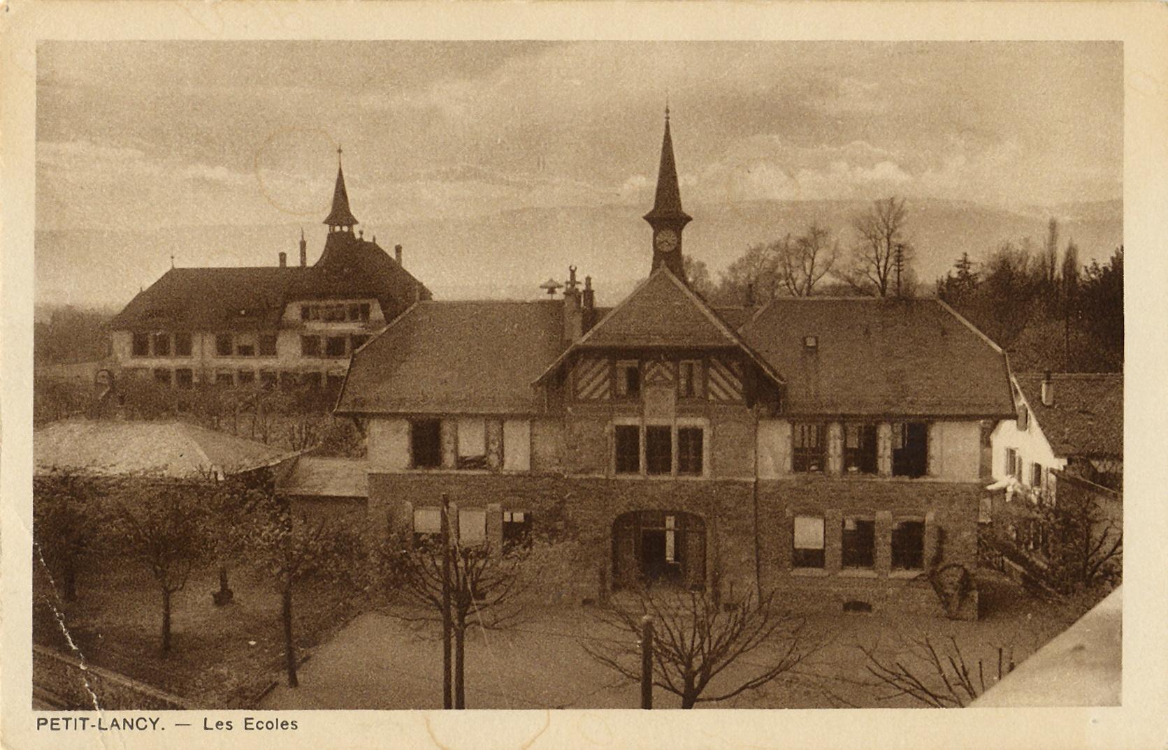 Pt Lancy Les Ecoles 1900 env