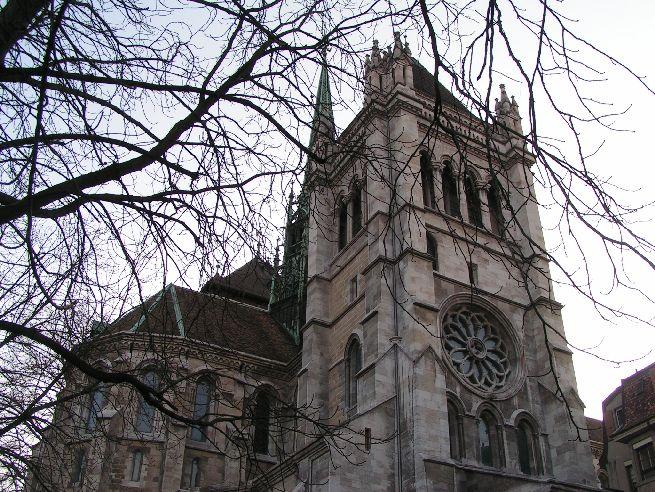 Cathédrale St-Pierre, tour nord