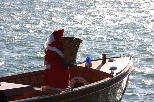père noël lacustre Noël de Rive 2008