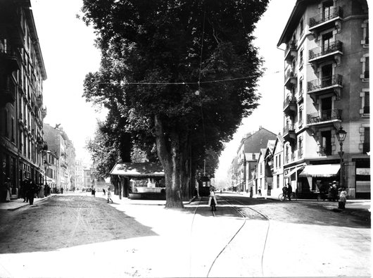 Place de la Navigation 1914 - Ancien lavoir couvert