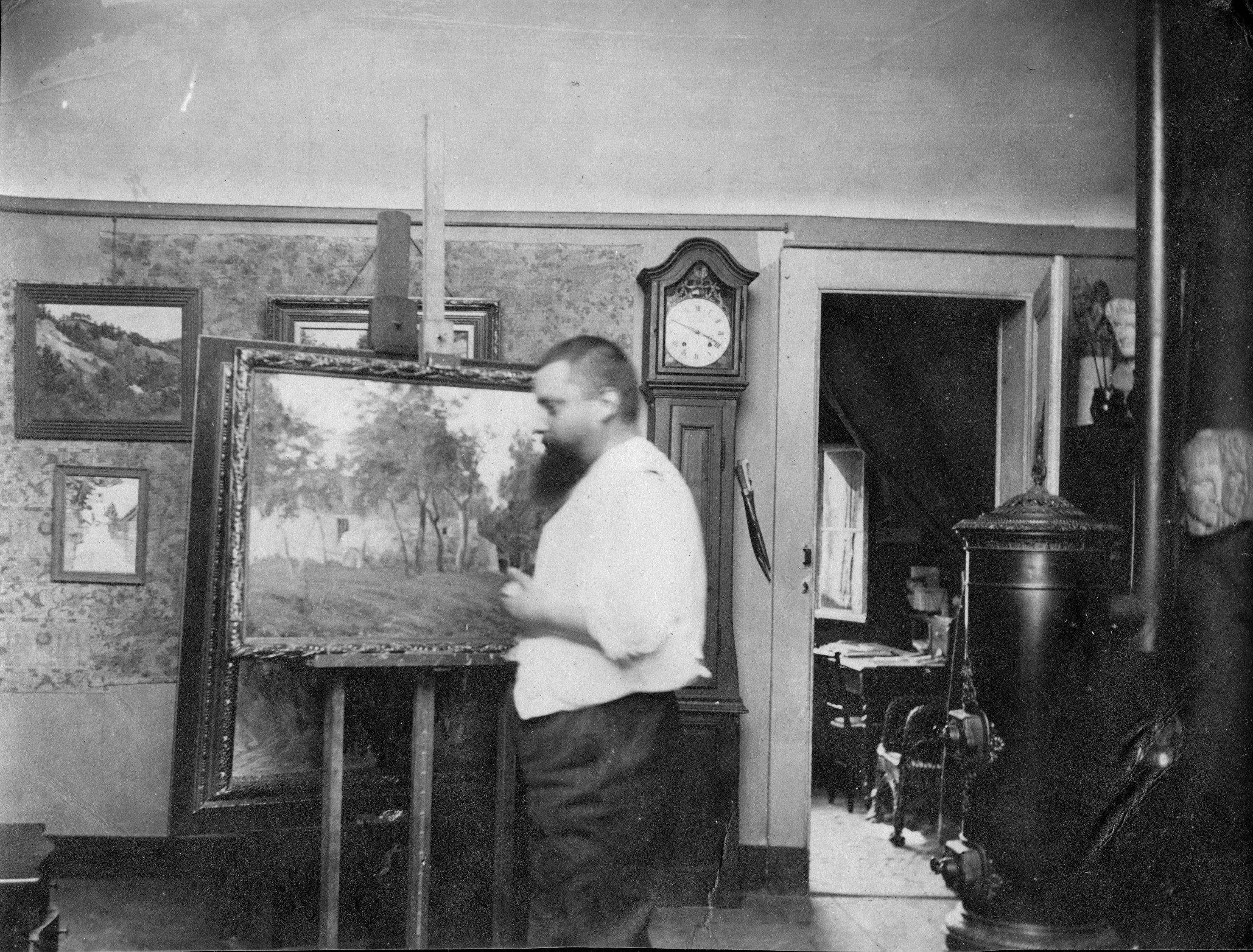 Genève - 1 rue de l'Évêché - Atelier de Gustave Maunoir