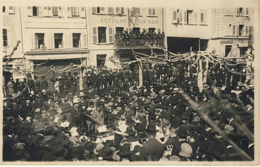 Pâques 1923, concert de la Lyre