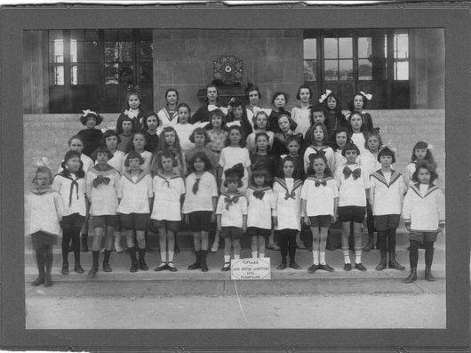 Pupilles de Plainpalais en 1918